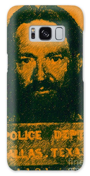 Mugshot Willie Nelson P0 Galaxy Case