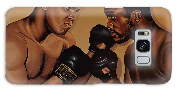 Realistic Galaxy Case - Muhammad Ali And Joe Frazier by Paul Meijering
