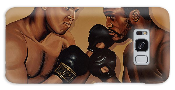 Muhammad Ali And Joe Frazier Galaxy Case by Paul Meijering