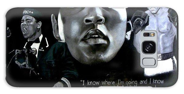 Muhammad Ali Galaxy Case by Chelle Brantley