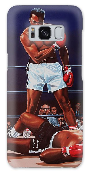 Muhammad Ali Versus Sonny Liston Galaxy Case by Paul Meijering