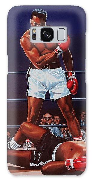 People Galaxy Case - Muhammad Ali Versus Sonny Liston by Paul Meijering