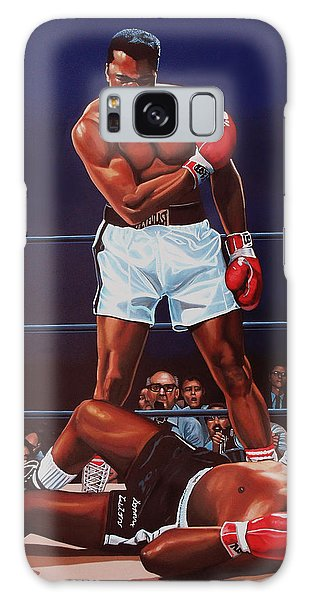 Sportsman Galaxy Case - Muhammad Ali Versus Sonny Liston by Paul Meijering