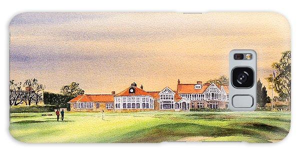 Muirfield Golf Course 18th Green Galaxy Case