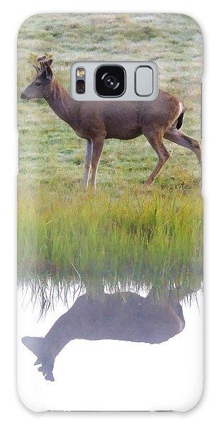 Mule Deer Reflection Galaxy Case