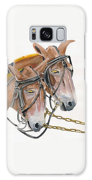 Mules - Two - Beast Of Burden Galaxy Case