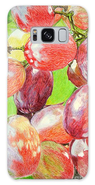 Multi Coloured Grapes Galaxy Case