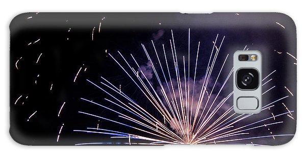 Multicolor Explosion Galaxy Case by Suzanne Luft