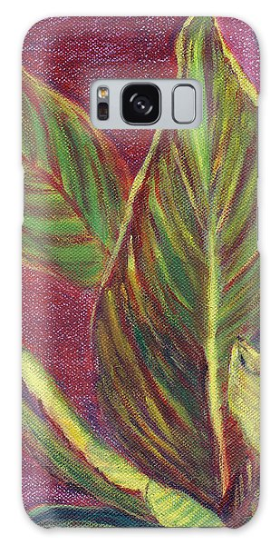 Multicolor Leaves Galaxy Case