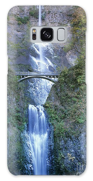 Multnomah Falls Columbia River Gorge Galaxy Case by Dave Welling