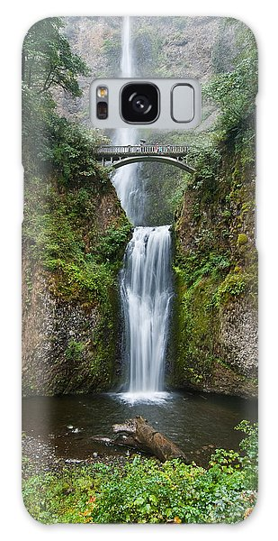 Multnomah Falls Galaxy Case by Jeff Goulden