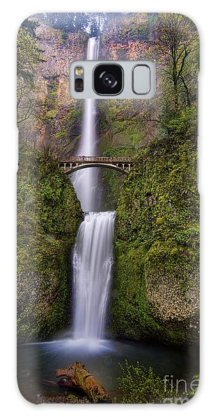 Fairy Pools Galaxy S8 Case - Multnomah Falls by Peter Dang