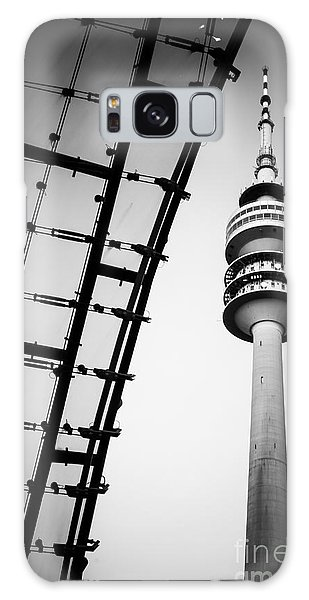 Munich - Olympiaturm And The Roof - Bw Galaxy Case
