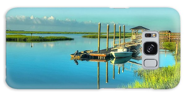Murrells Inlet Dock Galaxy Case by Ed Roberts