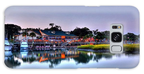 Murrells Inlet Evening Galaxy Case
