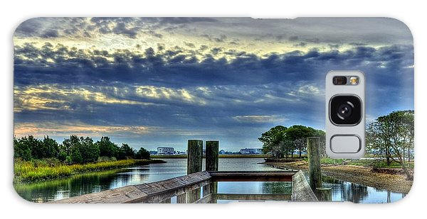 Galaxy Case featuring the photograph Murrells Inlet Morning 2 by Mel Steinhauer