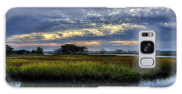 Murrells Inlet Morning 3 Galaxy Case