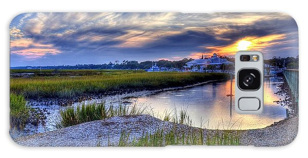 Murrells Inlet Sunset 4 Galaxy Case