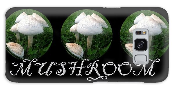 Mushroom Art Collection 2 By Saribelle Rodriguez Galaxy Case