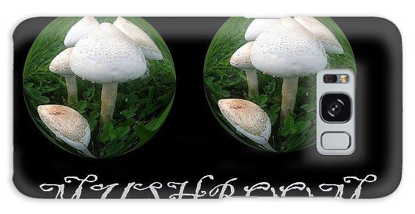 Mushroom Art Collection 3 By Saribelle Rodriguez Galaxy Case by Saribelle Rodriguez