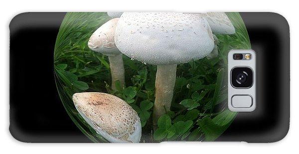 Mushroom Art Collection 4 By Saribelle Rodriguez Galaxy Case by Saribelle Rodriguez
