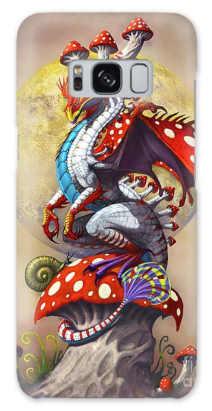 Mushroom Dragon Galaxy Case by Stanley Morrison