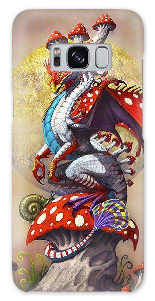 Fantasy Galaxy Case - Mushroom Dragon by Stanley Morrison