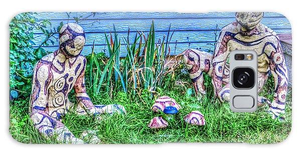 Mushroom Hunters Galaxy Case