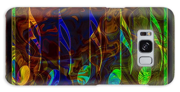 Music Is Magical Abstract Healing Art Galaxy Case
