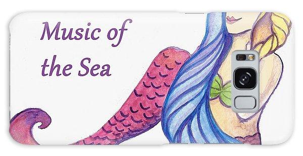 Music Of The Sea Galaxy Case