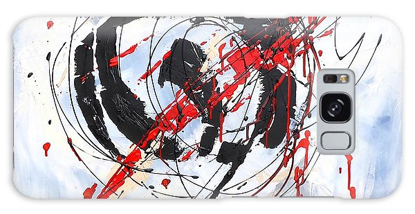 Musical Abstract 002 Galaxy Case