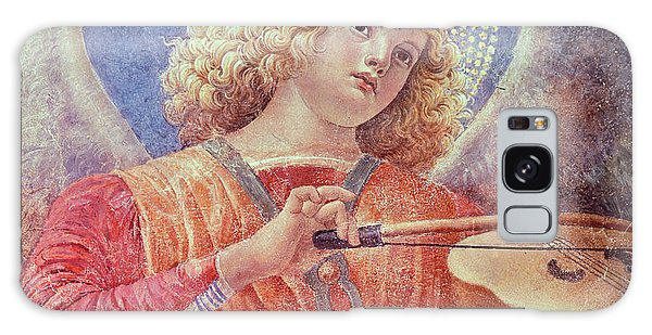 Musical Angel With Violin Galaxy Case