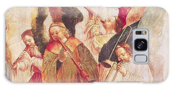 Trombone Galaxy Case - Musical Angels, Detail From The Assumption Of The Virgin by Taborda Vlame Frey Carlos