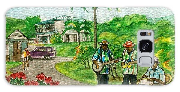 Musicians On Island Of Grenada Galaxy Case