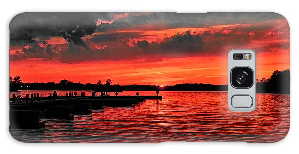 Muskoka Sunset Galaxy Case
