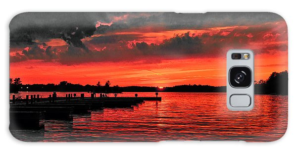 Muskoka Sunset Galaxy Case