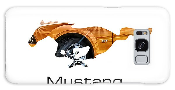 Mustang Galaxy Case by Michael White