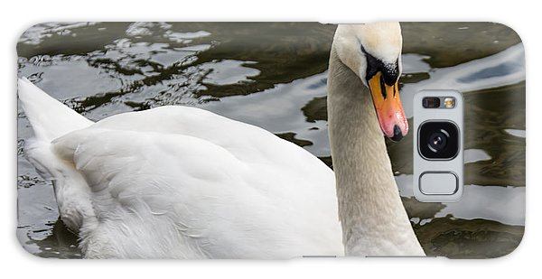 Mute Swan At Saltaire  Galaxy Case