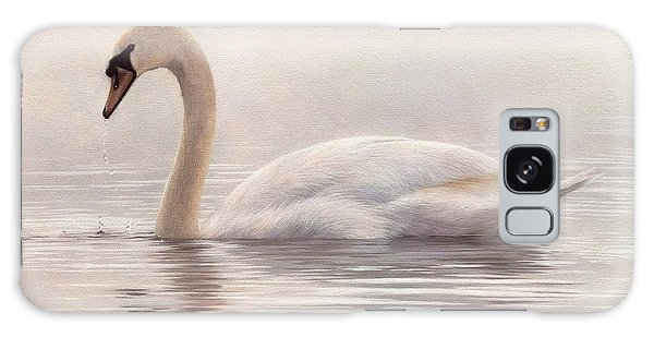 Mute Swan Painting Galaxy Case