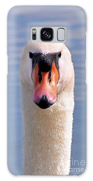 Mute Swan Staring Galaxy Case