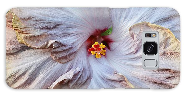 Muted Hibiscus Galaxy Case by Cindy Manero
