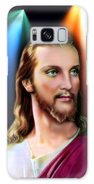 My Beautiful Jesus 3 Galaxy Case by Karen Showell