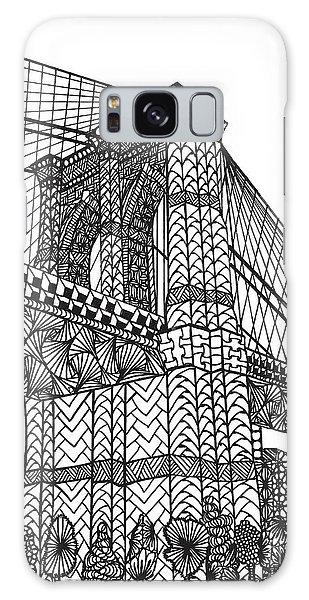 My Beloved Brooklyn Bridge Galaxy Case