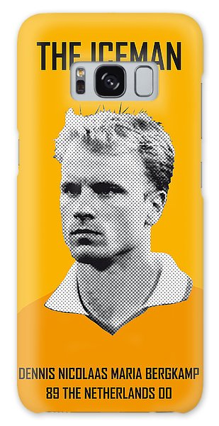 My Bergkamp Soccer Legend Poster Galaxy Case