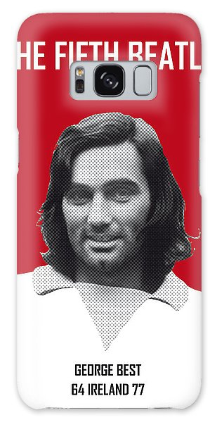 My Best Soccer Legend Poster Galaxy Case by Chungkong Art