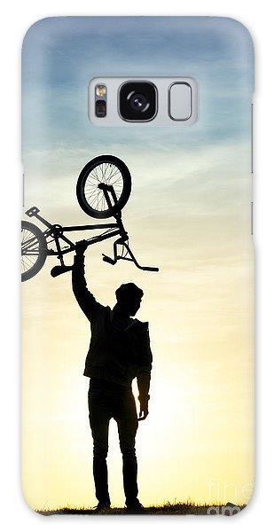 Contour Galaxy Case - Bmx Biking by Tim Gainey