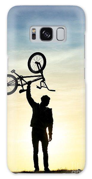 Bicycle Galaxy Case - Bmx Biking by Tim Gainey