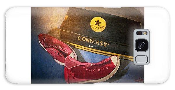 My Chucks - Pink Converse Chuck Taylor All Star - Still Life Painting - Ai P. Nilson Galaxy Case