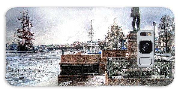 my city Peterburg Galaxy Case by Yury Bashkin