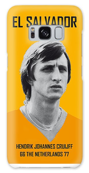 Pele Galaxy Case - My Cruijff Soccer Legend Poster by Chungkong Art